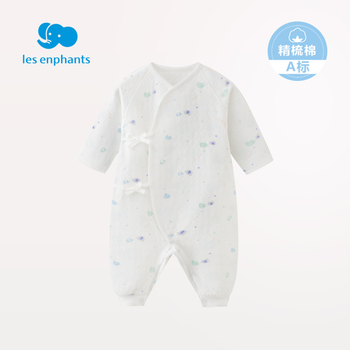 Les苏宁优惠券enphants丽婴房宝宝系带连身衣59元包邮