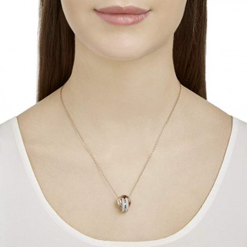 SWAROVSKI施华洛世奇双环水晶转运锁骨链项链52405253.7折直邮中国¥518.94