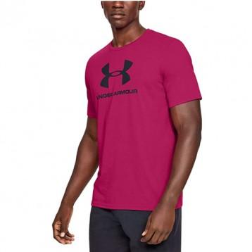 多色多码,UnderArmour安德玛SportstyleLogo男士印花短袖T恤13295905.4折直邮中国¥133.55