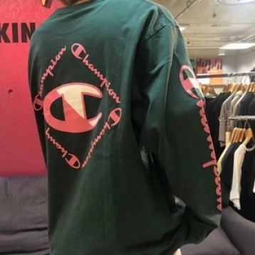 Champion冠军男式拼色大C标套头卫衣C3R4025折直邮中国¥279.08