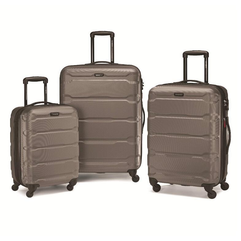 【中亚Prime会员】Samsonite新秀丽OmniPC硬壳行李箱拉杆箱3件套20+24+28寸到手价2190元