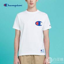 全尺码同价,Champion冠军牌C3F362男士纯棉短袖T恤¥164.83