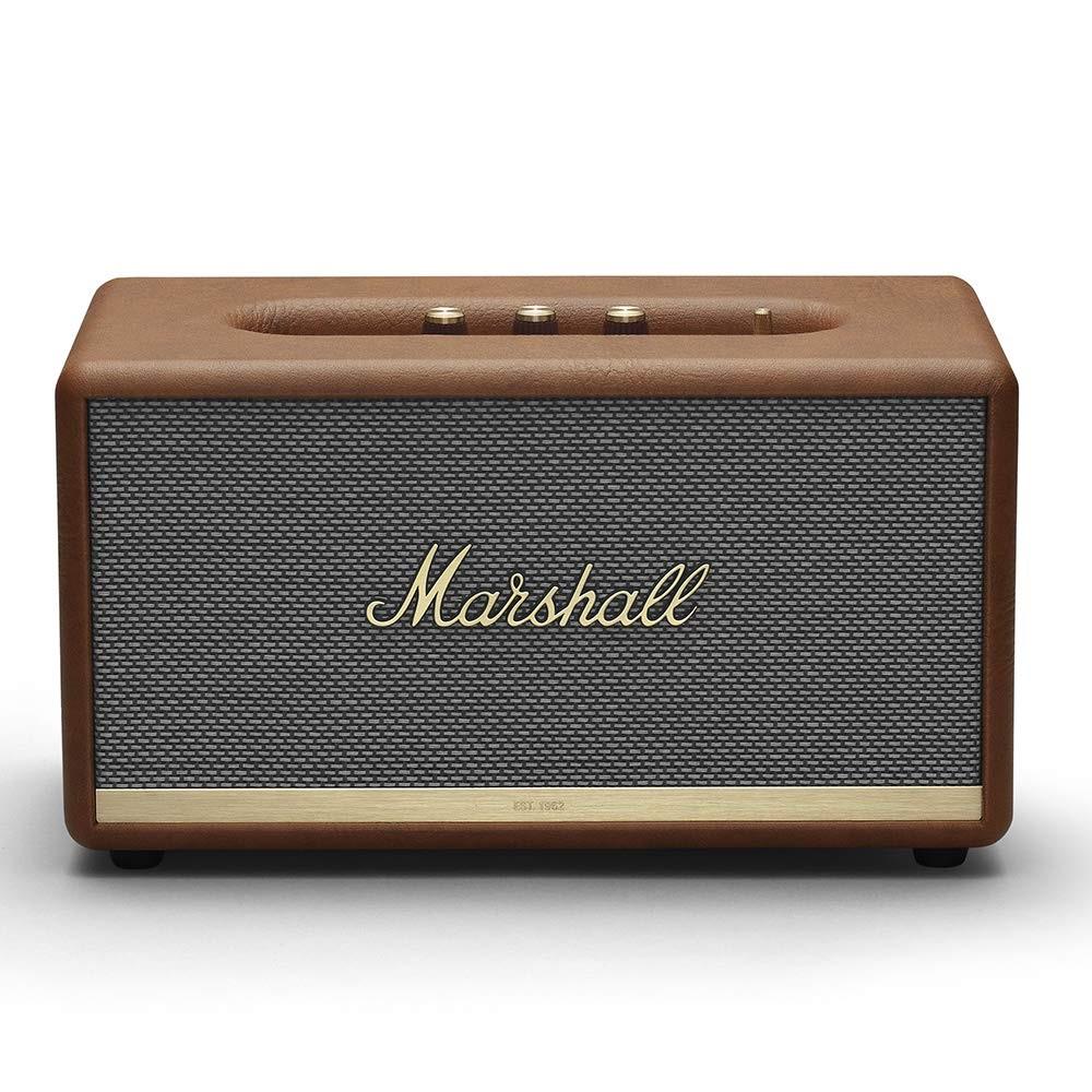 降价!【中亚Prime会员】Marshall马歇尔StanmoreII第二代无线蓝牙音箱棕色到手价1953元