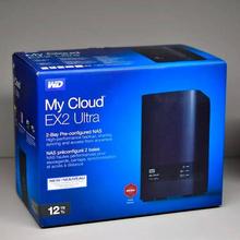 手快有!WesternDigital西部数据DisklessMyCloudEX2Ultra双盘位NAS12TB¥2181.84
