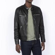 经典美国皮衣品牌,SchottNYCLcnewport男士羊皮夹克¥1205.46