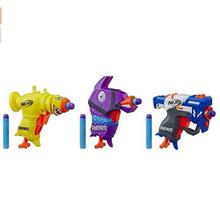 美亚1200+评价4.7星,Hasbro孩之宝Nerf热火MicroShots迷你软弹枪3支装+6颗软弹E7392¥125.01