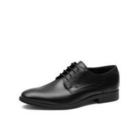 【亚马逊海外购】ecco爱步墨本系列男子牛津布系带皮鞋到手价低至¥514.97