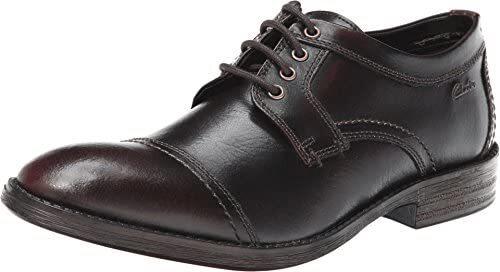 41码!Clarks其乐DelsinView男士真皮系带牛津鞋含税到手¥445.68